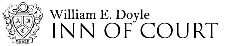 Doyle Inn - William E Doyle - Inn of Court